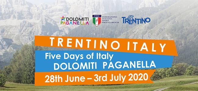 Iscrizioni 5 Days Italy – Paganella 2020