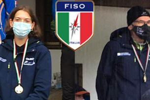 Serena Raus e Augusto Cavazzani Campioni Italiani Middle 2020