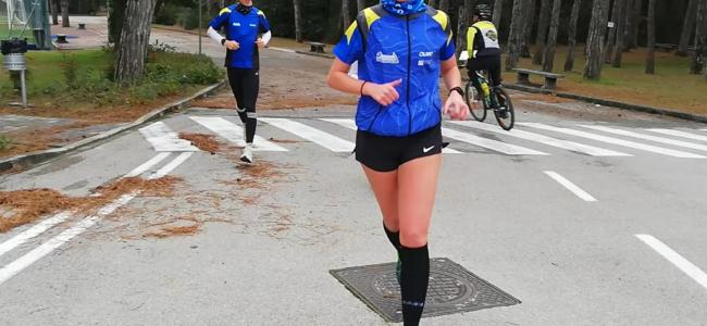 Allenamento sprint al Parco 3 Castagni!